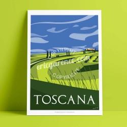 Variation Toscane au Printemps, 2016