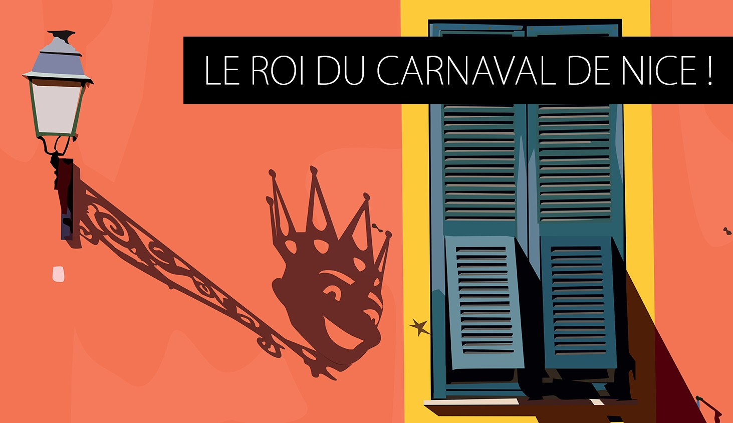 Affiche le roi du carnaval de Nice !