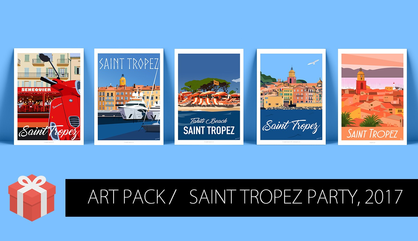 Art Pack Saint Tropez, 2017
