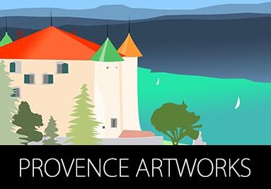 Provence Artworks