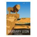 LION DE L'ATLAS - Animaux Sauvages - Planche Pédagogique
