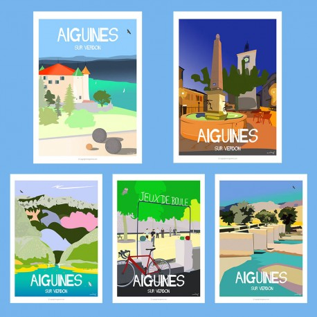 ART PACK - Aiguines Gorges du Verdon