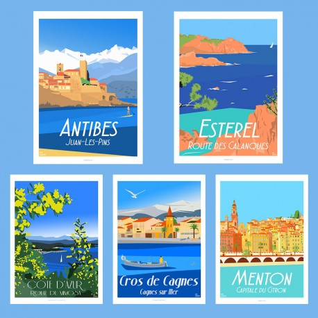 ART PACK - Côte d'Azur