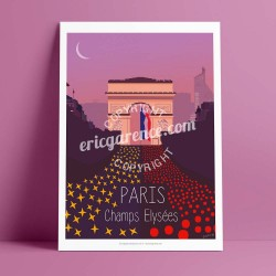 Les Champs Elysées et ses automobilistes, 2016