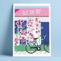 L'île de Ré and its bicycle, 2017