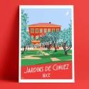 Les Jardins des arènes de Cimiez à Nice, 2017