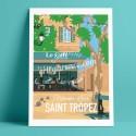 Place des Lices, le Café de Saint Tropez, 2018