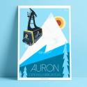 Auron, Station de ski du Mercantour, 2018