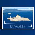 Marseille, le château d'If et le comte de Monte Cristo, 2018