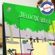 Affiche Le boulodrome, Aiguines par Eric Garence, Provence Sud Gorges du Verdon tableau décoration idée cadeau luxe collection c