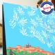 Affiche Cagnes par Eric Garence, Côte d'Azur France alu dibond plexiglass papier original limité Renoir Colettes nice métropole