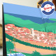 Affiche Vence par Eric Garence, Côte d'Azur France affichiste savignac roger broders publicité pub Matisse chapelle rosaire vill