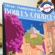 Affiche Championnat du monde de boules carrées 2017 à Cagnes par Eric Garence, Côte d'Azur France voyage souvenir vacances Pinup