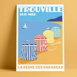 Queen of the Parasols, Trouville-sur-Mer, 2018