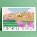 Saint Paul de Vence, Printemps, 2019