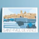 Saint Paul de Vence, Winter, 2019
