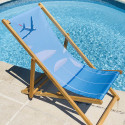Deck Chair Personnalized by Eric Garence