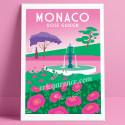 Monaco, la Roseraie de Monaco