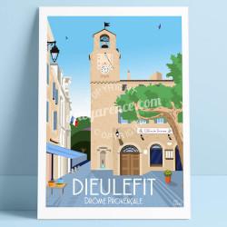 Dieulefit, le Beffroi à l'heure du Picodon, 2019