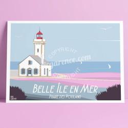Belle-Ile-en-Mer, le Phare des Poulains