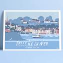 Belle-Ile-en-Mer, le Port de Sauzon