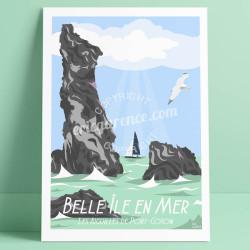 Belle-Ile-en-Mer, Les Aiguilles de Port-Coton