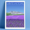 La Sainte-Victoire and the Lavandes, 2019