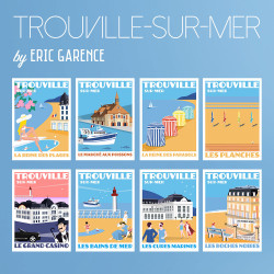 Trouville-sur-Mer, La Collection cartes postales