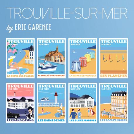 Trouville-sur-Mer, Postcard special Edition