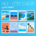 Nice French Riviera, Postcard special Edition