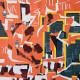Vieux Nice, Eric Garence, Phoenix, artiste niçois, art, mamac, affiches, signé, papier d'art