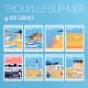 Les 8 affiches de Trouville-sur-Mer, Eric Garence, Marché, posters, savignac, raymond, vintage, retro, voyage