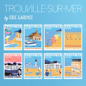 8 posters of Trouville-sur-Mer