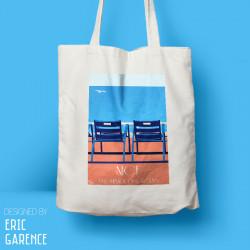 """Tote Bag """"Nice - Promenade des Anglais"""" chaises bleues, cadeau, souvenir eric garence made in france cote d'azur"""
