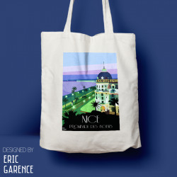 "Tote Bag ""Nice Negresco"""