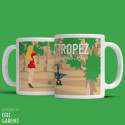 "Mug ""Fanny and the Place des Lices in Saint Tropez"""