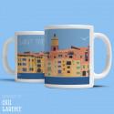 """Mug """"La Ponche et BB à Saint Tropez"""""""