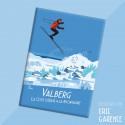 """Magnet, """"Valberg, La Côte d'Azur à la Montagne"""""""