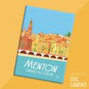 """Magnet, """"Menton, Capitale du citron"""""""