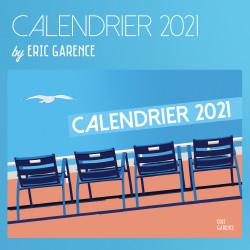 Calendrier 2021 de la Côte d'Azur by Eric Garence idée Cadeau Nouvelle année, new year French Riviera