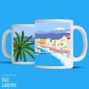 "Mug ""Nice, Baie des Anges"""