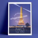 La Tour Eiffel par une soirée de printemps, 2016