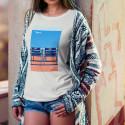 """T-shirt """"Nos 2 Chaises Bleues"""" Femme"""