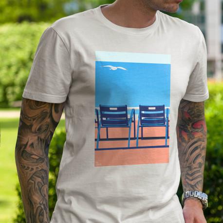 "T-shirt ""Nice Miami"" by Eric Garencen-, artiste, nicois, design, art, phoenix, nice, artwork"