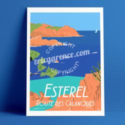 Esterel, la Route des Calanques