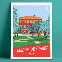 Jardins Cimiez, 2017, 70x100cm