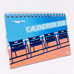 2021 French Riviera Calendar by Eric Garence, neew yeear day, gift, idea, incentive