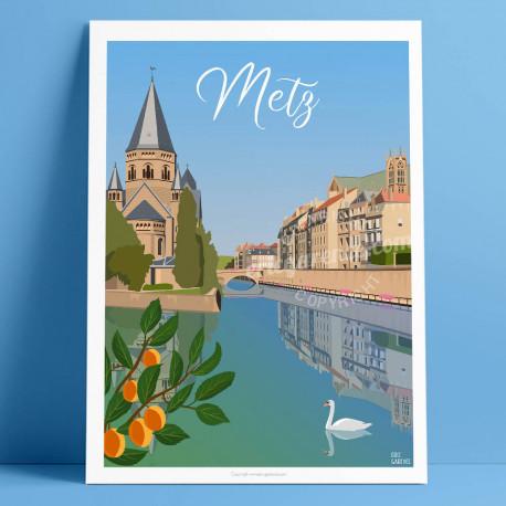 Metz, la Moselle, 2021