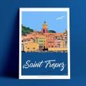 St Tropez vu de du Yacht de Kate Moss, 2016