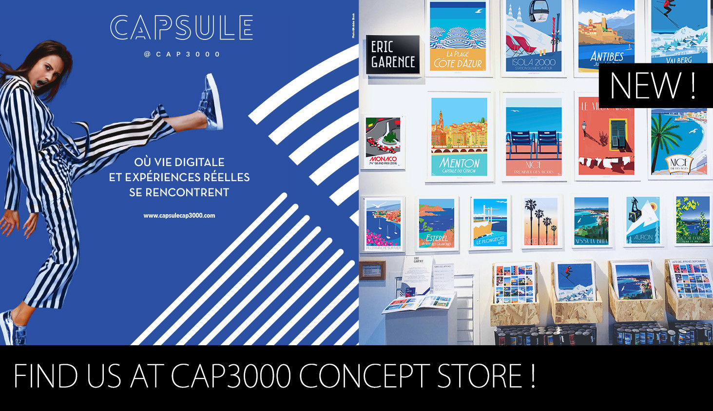 La Boutique Eric Garence à Capsule @ Cap3000